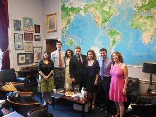 Decoding Dyslexia - NJ, Decoding Dyslexia-CA, and Will met with Congressman Chris Smith.