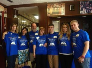 Left to Right: Liz Barnes (Decoding Dyslexia - NJ), Deborah Lynam (Learning Ally), Bill Marsh, Dana Marsh, Will Marsh, Emily Marsh, and Dylan Broadley posed for a group photo! Thank you all for your help!!